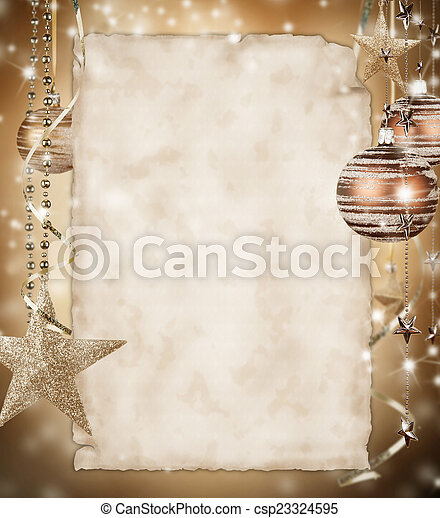 Christmas background - csp23324595