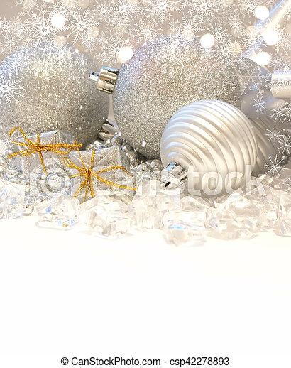 Christmas background - csp42278893