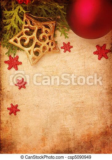 Christmas background - csp5090949