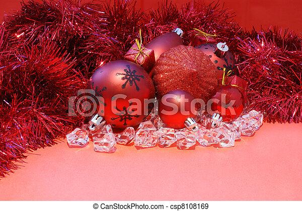 Christmas background - csp8108169