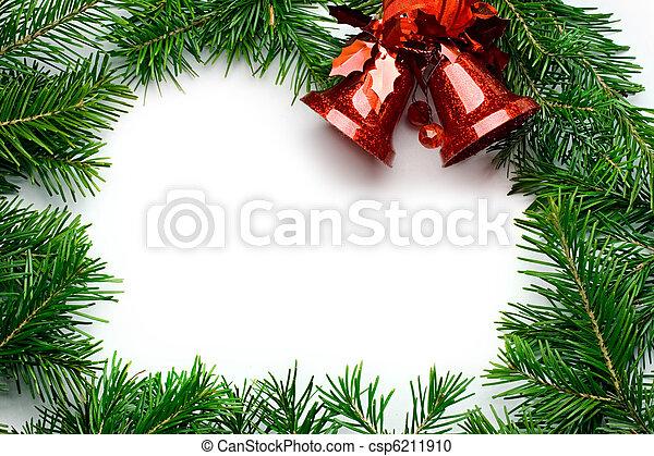 Christmas background - csp6211910