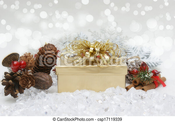 Christmas background - csp17119339