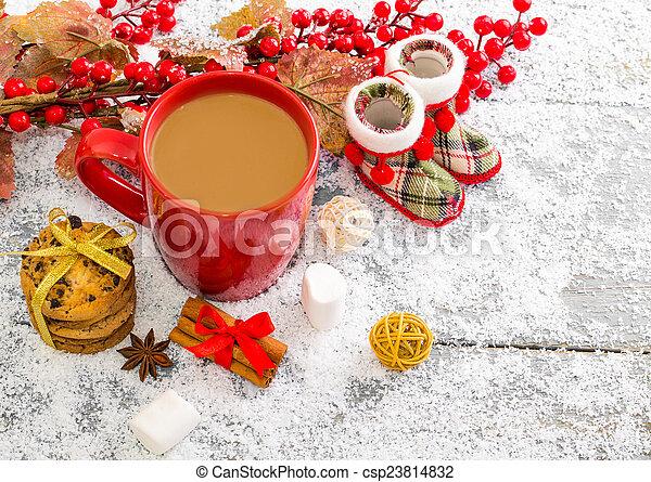 Christmas background - csp23814832