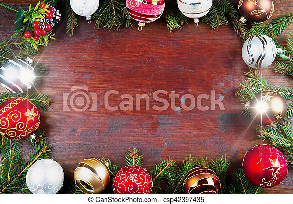 christmas background - csp42397435