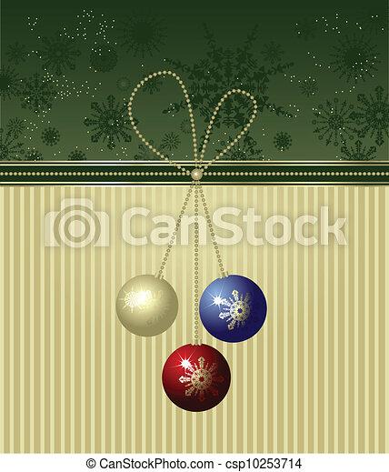 Christmas background - csp10253714