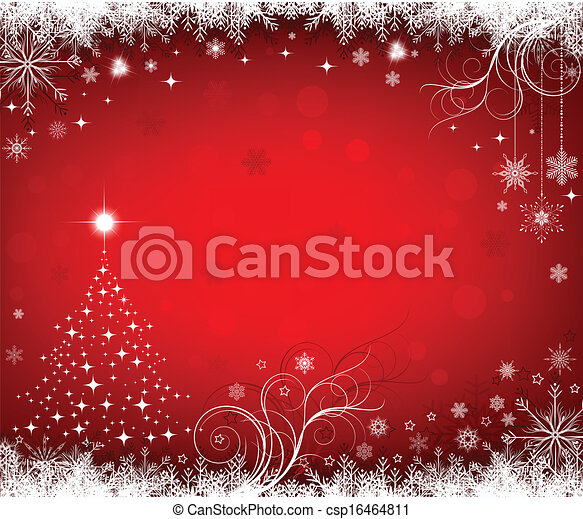 Christmas background - csp16464811