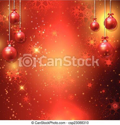 Christmas background - csp23088310