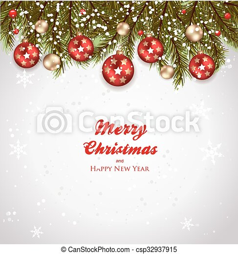Christmas background - csp32937915