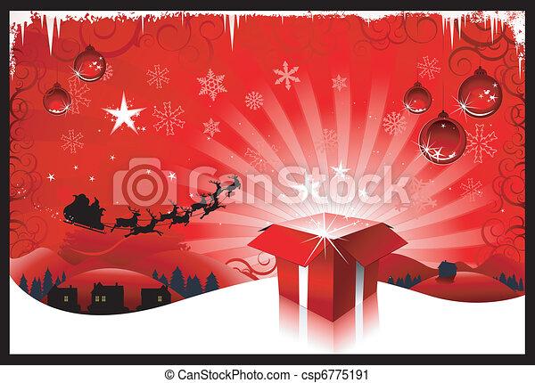 Christmas background - csp6775191