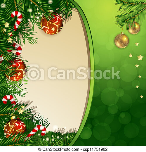 Christmas background - csp11751902