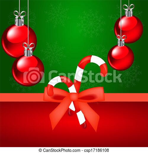 Christmas background - csp17186108