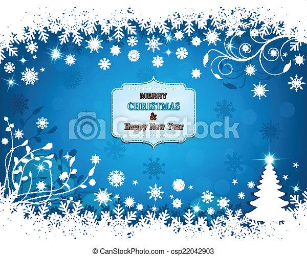 Christmas background - csp22042903
