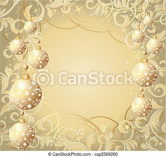 Christmas background - csp2569260