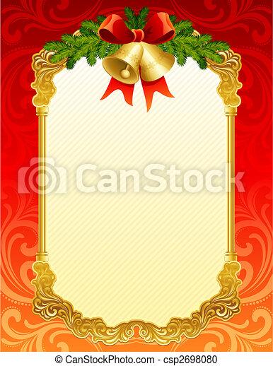 christmas background - csp2698080