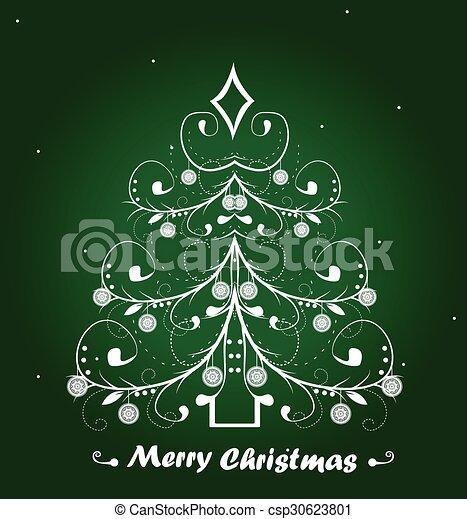 Christmas background - csp30623801