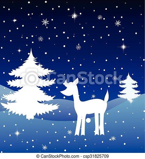 Christmas background - csp31825709