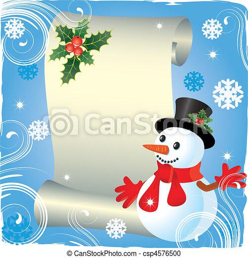 Christmas background - csp4576500