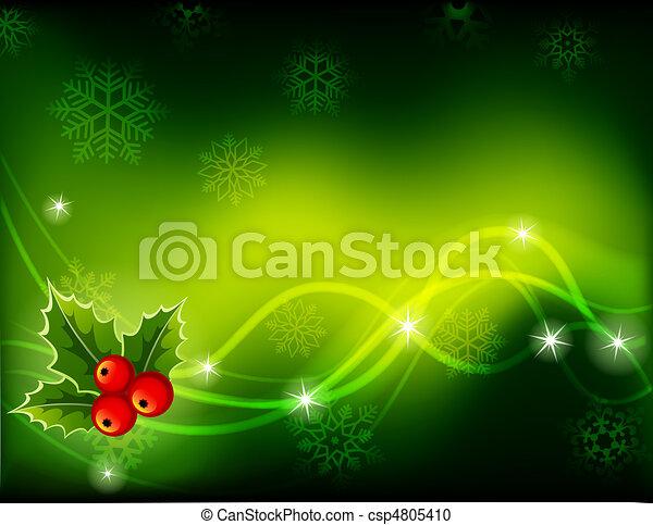 Christmas background - csp4805410