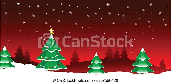 Christmas background - csp7598420