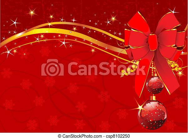 Christmas background - csp8102250