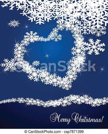 Christmas Background vector - csp7871399