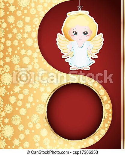 Christmas background. Vector eps 10 - csp17366353