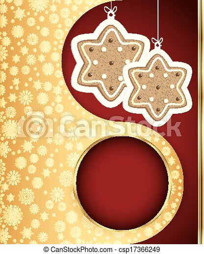 Christmas background. Vector eps 10 - csp17366249