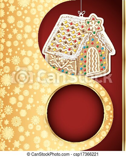 Christmas background. Vector eps 10 - csp17366221