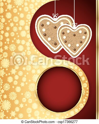 Christmas background. Vector eps 10 - csp17366277