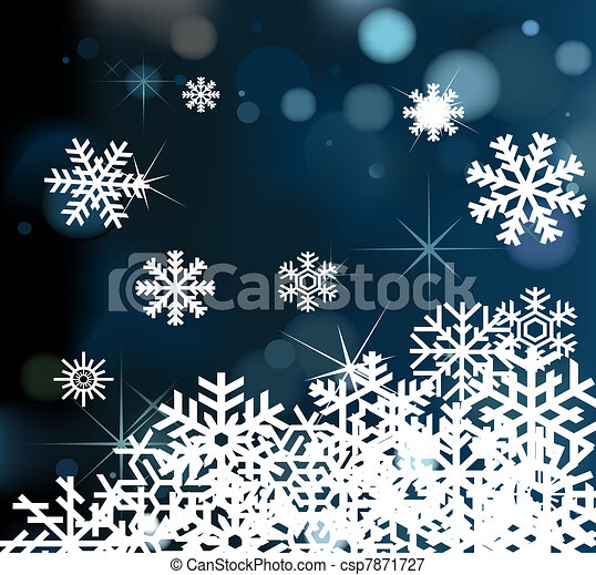 Christmas Background vector - csp7871727