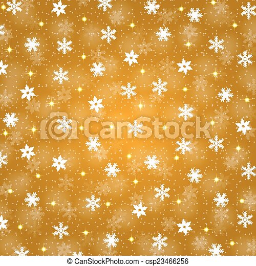 christmas background with snowflakes - csp23466256