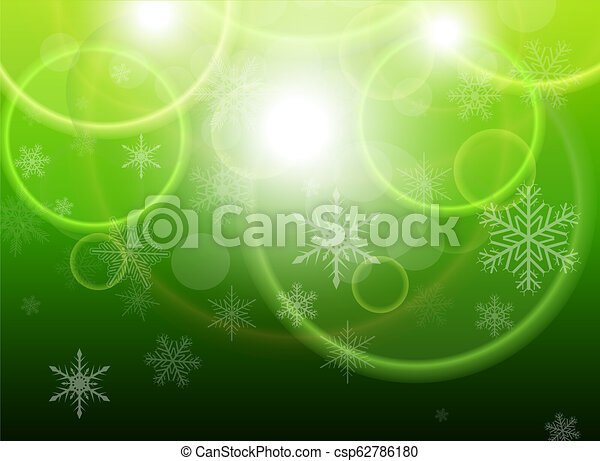Christmas background with snowflakes - csp62786180