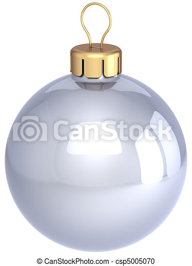 Christmas ball colorless classic - csp5005070