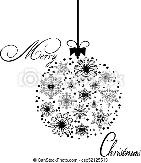 Christmas Ball - csp52125513