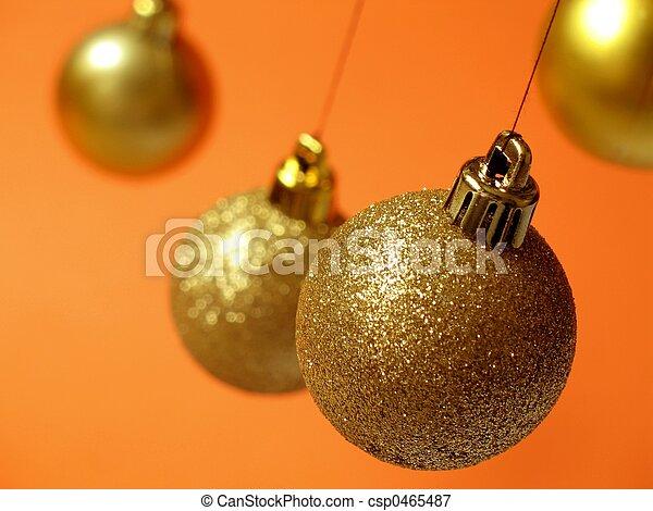 Christmas balls - 4 - csp0465487