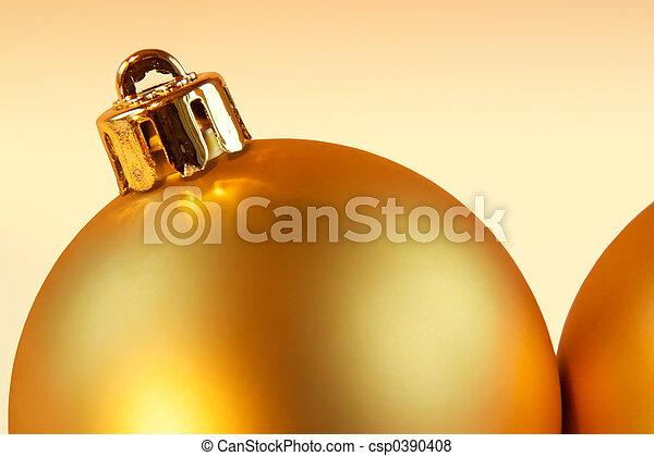Christmas balls background - csp0390408