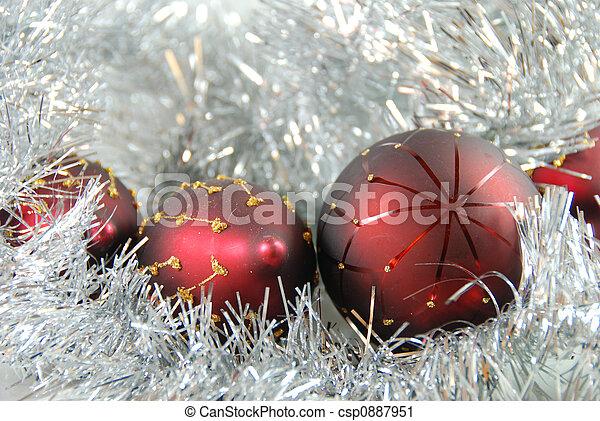 christmas balls - csp0887951