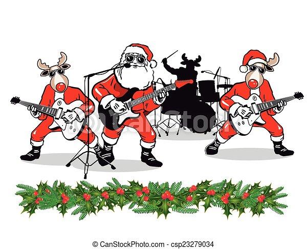 Christmas Band - csp23279034