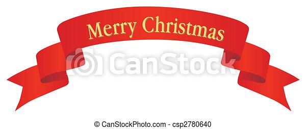 christmas banner csp2780640