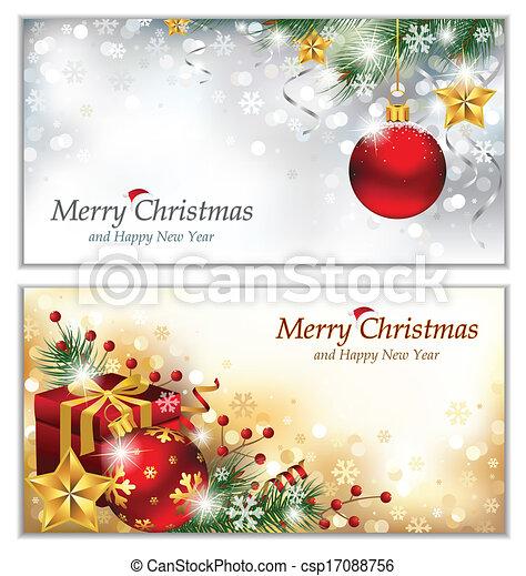 Christmas Banners - csp17088756