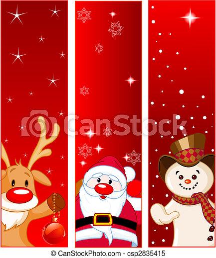 Christmas Banners - csp2835415