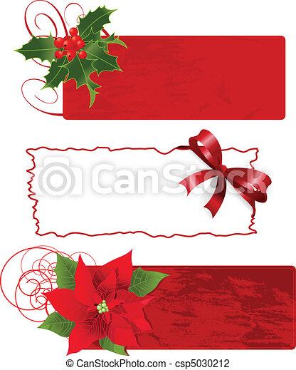 Christmas banners (frames) - csp5030212