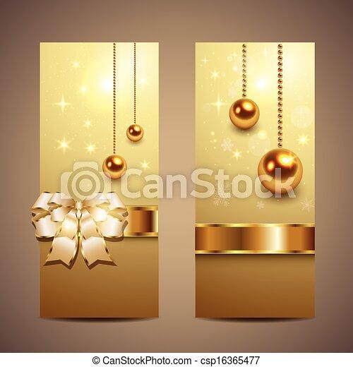 Christmas banners - csp16365477