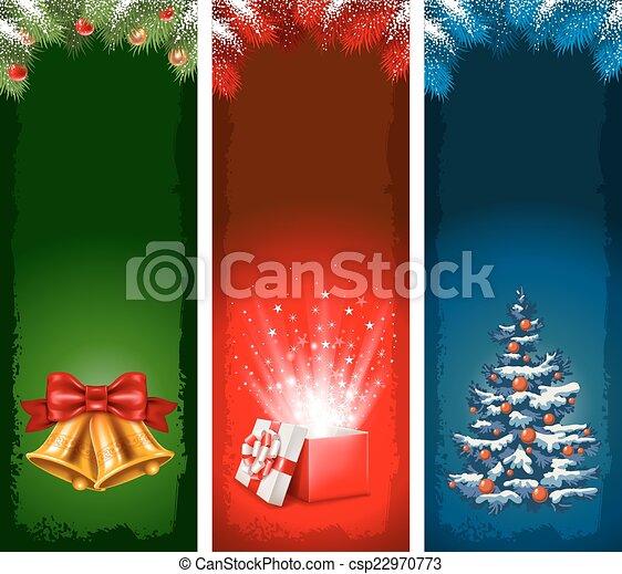 Christmas Flyers.Christmas Banners