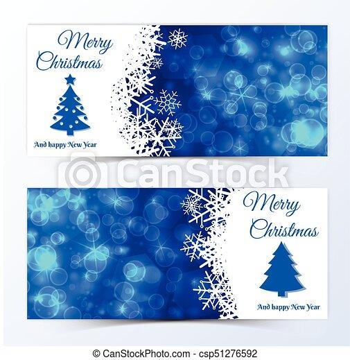 Christmas Banners.Christmas Banners Set