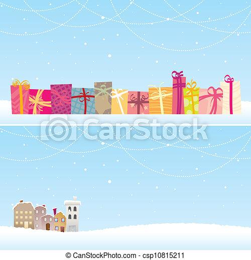 Christmas Banners - csp10815211