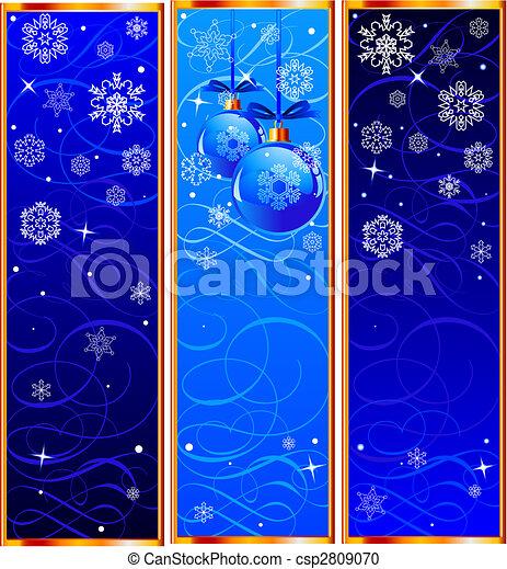 Christmas Banners - csp2809070