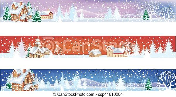 Christmas Banners.Christmas Banners