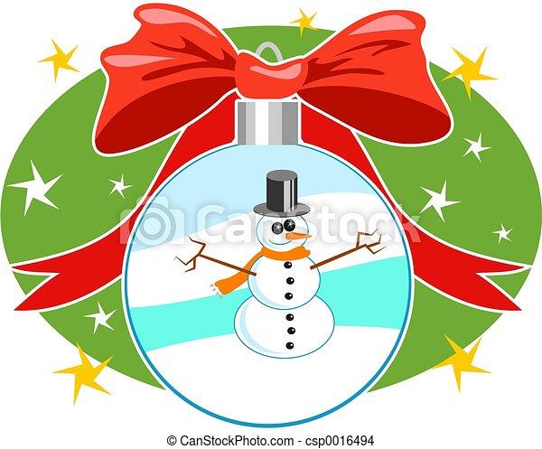 Christmas Baubel - csp0016494