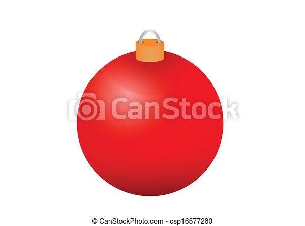 Christmas bauble - csp16577280